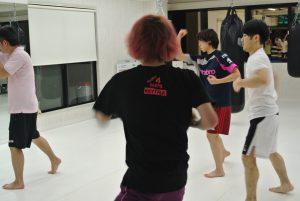 シャドーボクシング