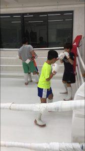 子供達練習