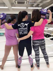 女性 キックボクシング