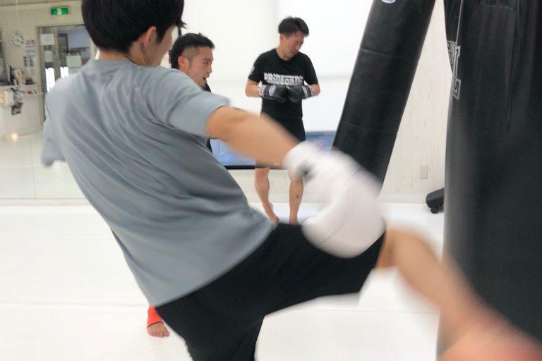 キックボクシングを始めてみませんか☆