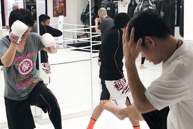 キックボクシングで反射神経を鍛えましょう!!