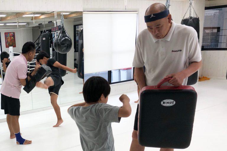子供達がキックボクシングに集中できる環境づくり☆