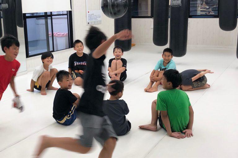 子供達も楽しくキックボクシング☆