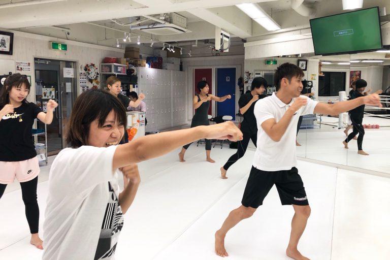 ボクシング女子☆