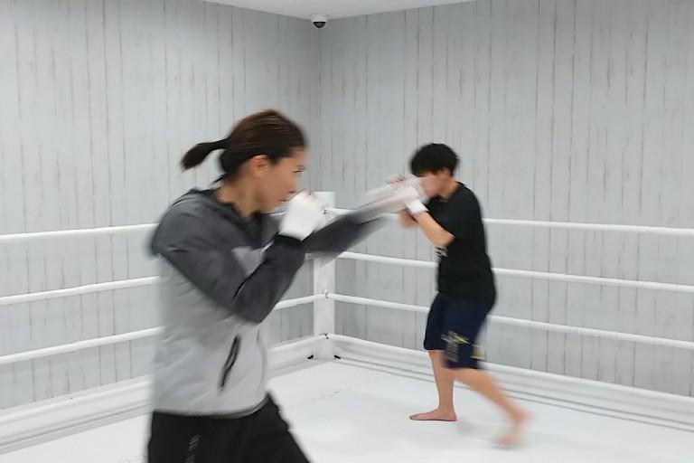 シャドーはとても良い運動☆