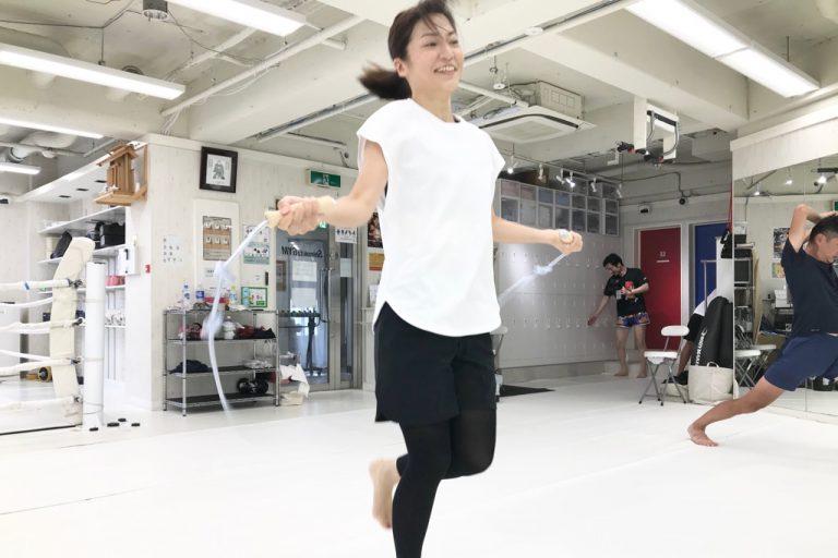 縄跳びはウォーミングアップにおすすめです!!