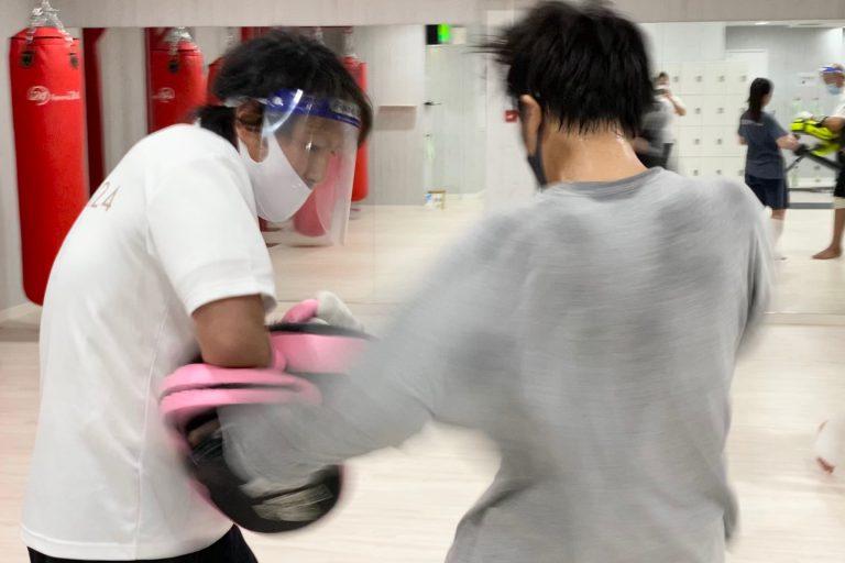 体力・キックボクシング技術を向上させましょう!!