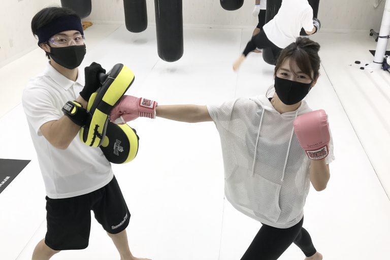 楽しくキックボクシング!!