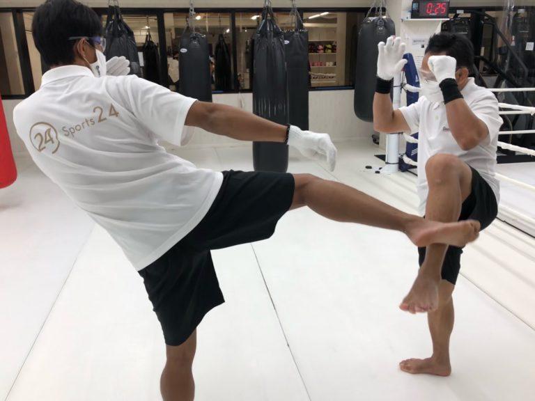 想像してキックボクシング!