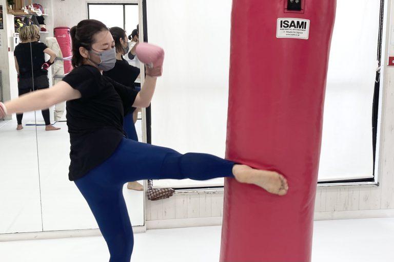 女性もキックボクシング上達したい!!